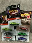 Hot Wheels 7 69 Ford Mustang Larrys Signed X2 Mustang Mania GT Mach 1 Parnell