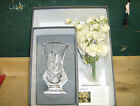 Waterford Crystal 2001 Mothers Day Vase with Flowers 7th Edition 117042