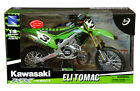 Kawasaki KX450 Motorcycle 16 Scale Eli Tomac Die Cast with Plastic Green