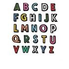 Alphabet Letters Embroidered Patches For Clothing Iron on Sew on Patch Applique