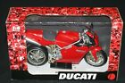 NEW RAY 16 SCALE DUCATI 998 DIECAST with PLASTIC MOTORCYCLE NEWRAY