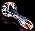 THICK Grav 4 Wigwag SPOON Hand Pipe BOWL Pipe HOT Glass Pipes UNIQUE USA