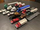 Ertl 1 64 Truck  Trailer Huge Lot from 1990s 24 Items for Farm Country