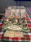 Signed David Winter Cottage Complete Cameo Collection COA Bright Diorama and BOX