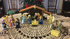 Nativity Scene Child Proof Plastic Figures W Book Christmas Jesus 19 Pcs 2007