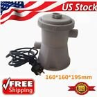 110V Electric Swimming Pool Filter Pump For Above Ground Pools Cleaning Tool US