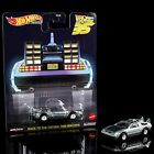 NEW BACK TO THE FUTURE 35th ANNIVERSARY HOT WHEELS COLLECTIBLE CAR MINT IN HAND