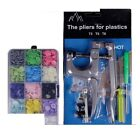 Fastener Snap Machine Sewing Tool Pliers Button Plastic Resin Press Stud Cloth