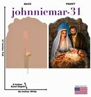 Advanced Graphics Christmas Nativity by Dona Gelsinger Cardboard Standup