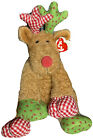 Christmas Ty Classic Beanie Baby Chestnuts Reindeer 10
