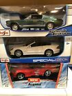 1 18 Scale Lot Of 3 Diecast Dodge Viper RT 10 AciphexMercedes AMG Mustang GTA