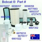 Filter Service Kit For Bobcat S250 S300 S330 Hydraulic Fuel Oil Air Cabin V3800