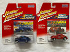 Lot of 9 Johnny Lightning 1 64 Scale Diecast CarsSee DescriptionNew in Package