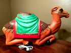 Vtg Empire Christmas Nativity Camel Plastic Lighted Blow Bold 28 Long