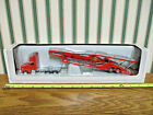 Red International 8600 Semi With Car Transport Trailer By SpecCast 1 64th Scale