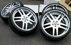22 FORGIATO VIZZO CHROME WHEELS ASTON MARTIN DB9 5X1143 MASERATI GHIBLI Q4