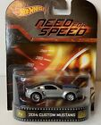 HOT WHEELS RETRO ENTERTAINMENT 2014 CUSTOM MUSTANG NEED FOR SPEED REAL RIDERS