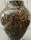 Cohn Studios Tortoise Shell Glass Art Vase Signed Numbered  Dated 7 1 2 T