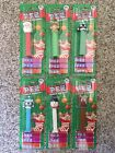 Lot Of 6 Christmas Theme Pez Dispensers Reindeer Elf Penguin Santa Snowman 2012