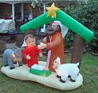 Gemmy 7 foot Wide Inflatable Nativity Scene in its Original Box