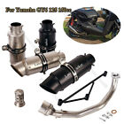 Motorcycle Exhaust Front Connect Link Tube Muffler Pipe for Yamaha GY6 125 150cc
