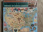 Native Lands Indians of North America Jigsaw Puzzle 300 piece 20X27 USA