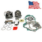 100cc 50mm Big Bore Cylinder Kit Gasket Piston For 139QMB GY6 Chinese Scooter