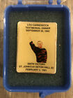 Lou Carnesecca 500th Victory Pin 1992 Awards Dinner St Johns Redmen Red Storm