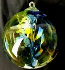 Kitras Art Glass Tree of Enchantment Large 16 Ornament Unique Blues Greens New