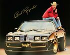 Burt Reynolds Signed 11x14 Smokey and the Bandit Photo Beckett Witnessed BAS