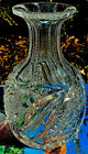 Vintage Lead Crystal Cut Glass Open Wine Whiskey Decanter 50+ years old