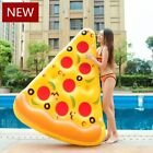 Inflatable Pizza Slice Pool Floats Swimming Ring For Children Adult