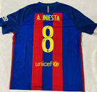 Barcelona Andres Iniesta Signed Jersey Soccer Autographed Beckett BAS COA