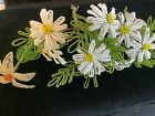Vintage French Beaded Flowers