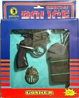 VINTAGE GONHER BARVAL SPECIAL POLICE PLAY SET TOY CAP GUN REVOLVER NEW IN BOX