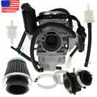 Carburetor CARB GY6 150 CC For ATV Gokart Roketa Taotao Sunl Tank w Air Filter