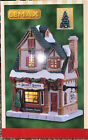 LEMAX-Secret Santa Christmas Shoppe -Lighted Holiday Village Building Porcelain