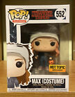 Funko Pop Max Costume Stranger Things #552 Hot Topic Exclusive Netflix Mint W PP