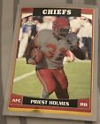Priest Holmes Cards, Rookie Cards, Autographed Memorabilia Guide 11