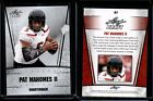 PAT MAHOMES II 2017 LEAF DRAFT SILVER EDITION CRACKED GLASS Print Error Rookie