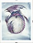 Moon DragonPrint by Fantasy Artist Amy Brown Framed Ready to Hang 85 x 11