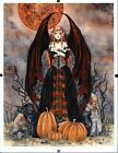 Harvest MoonPrint by Fantasy Artist Amy Brown Framed Ready to Hang 85 x 11