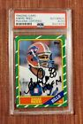 1986 Topps #388 Andre Reed Autograph Bills Rookie Football Card PSA DNA AUTO RC