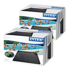 2 PACK Intex Solar Water Heater Mat for 8000 Gallon Above Ground Swimming Pool