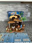 Playmobil 5588 Christmas Manger Set Nativity Mary Joseph Angel Baby Jesus RARE
