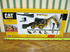 Caterpillar 420E Backhoe Loader With Work Tools By Norscot 1 50th Scale