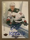Hockey Card Design Evolution: SP Authentic Future Watch Rookie Card 19