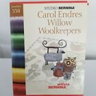 Artista STUDIO BERNINA 538 Embroidery Card Carol Endres Willow Woolkeepers