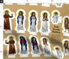 Dolls Christmas Pattern Jesus Nativity Plushie Spoonflower Fabric by the Yard