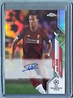2020-21 Topps Chrome UEFA Champions League Soccer Cards 27
